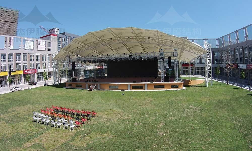 膜结构舞台