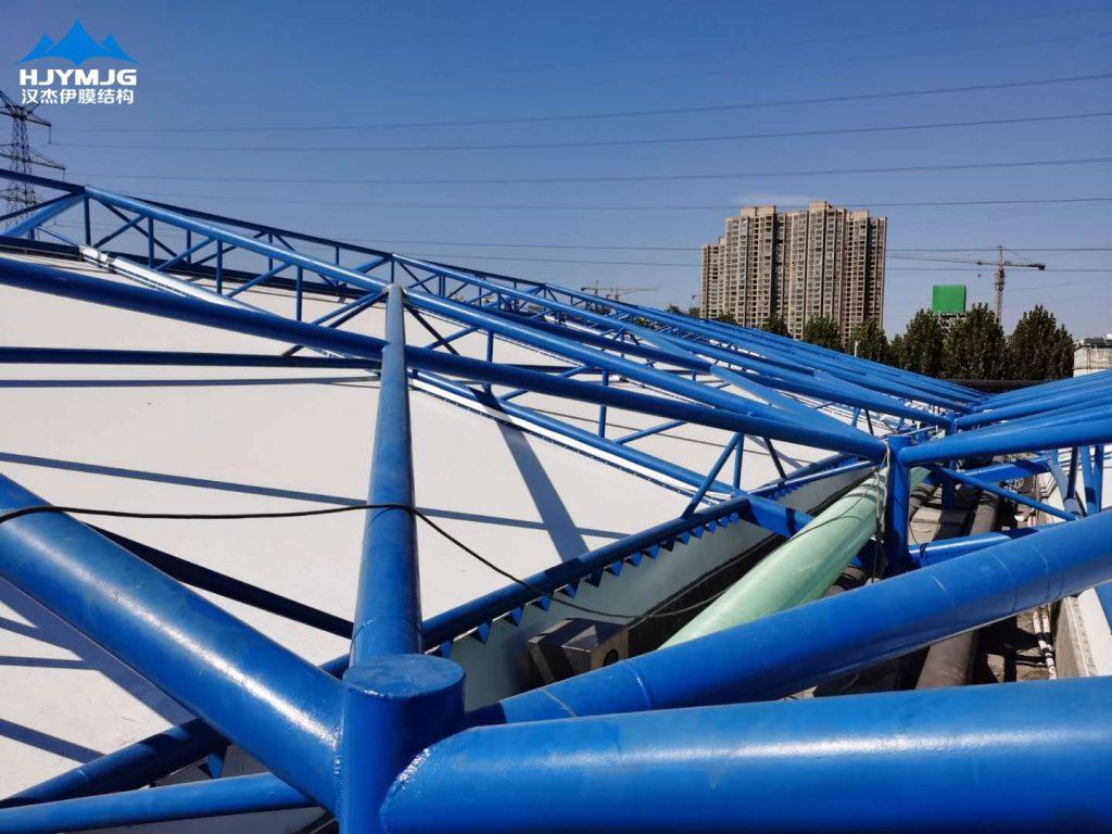 汉杰伊膜结构偃师污水池项目