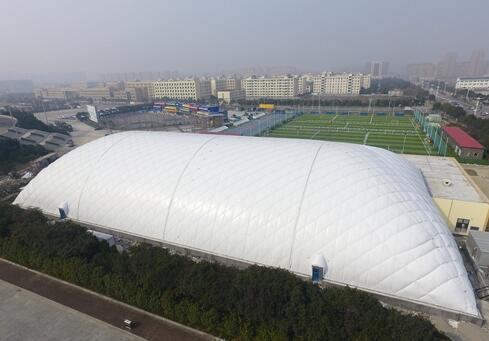 """""""千馆计划""""后,气膜结构体育馆接踵而建-点击查看大图"""