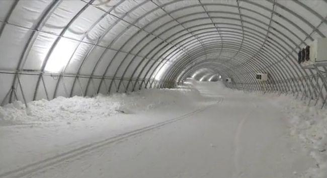 气膜滑雪赛道